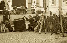 Inscenizacja Obrony Plocka Marcin Dorobek (19)