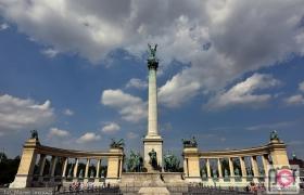 Plac Bohaterów Budapeszt
