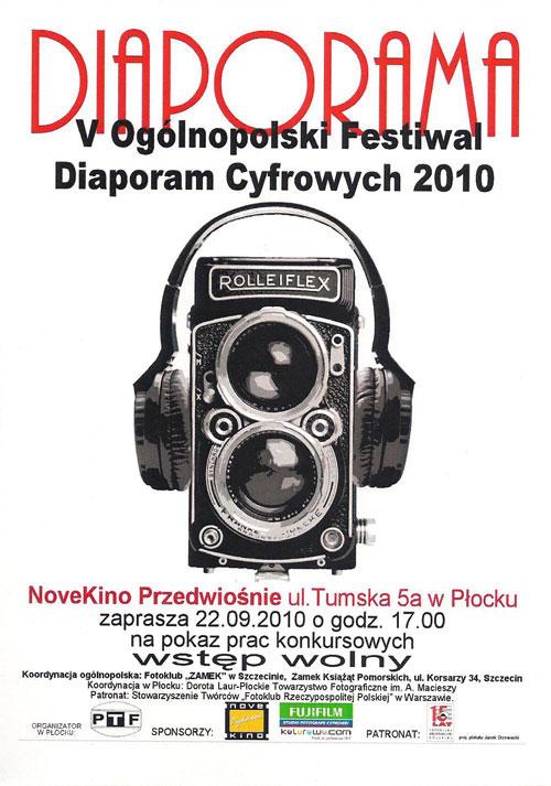 V Ogólnopolski Festiwal Diaporam Cyfrowych 2010 Płock