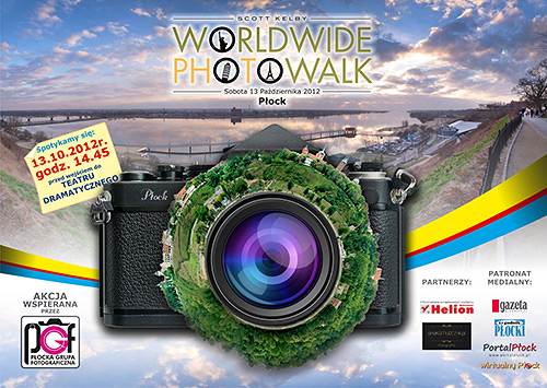 worldwide photo walk płock plakat