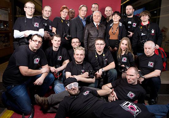 Płocka Grupa Fotograficzna z Małgorzatą Dołowską, Mieczysławem Cybulskim i Krzysztofem Hejke fot. Dariusz Ossowski/Tygodnik Płocki