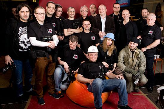 Płocka Grupa Fotograficzna z Prezydentem Płocka Andrzejem Nowakowskim fot. Dariusz Ossowski/Tygodnik Płocki