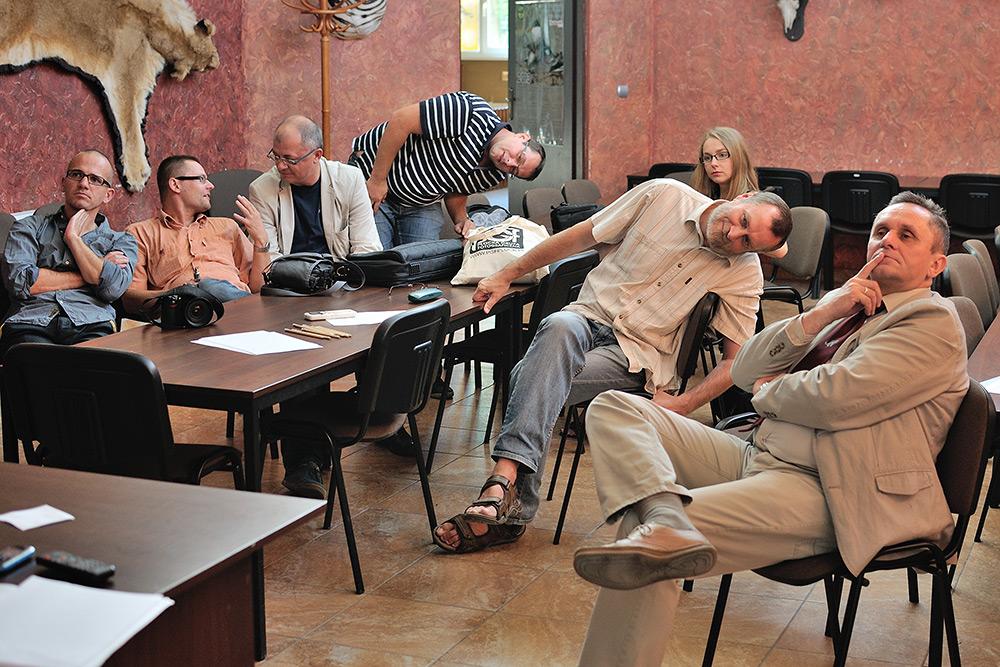 Zebranie tęgich głów