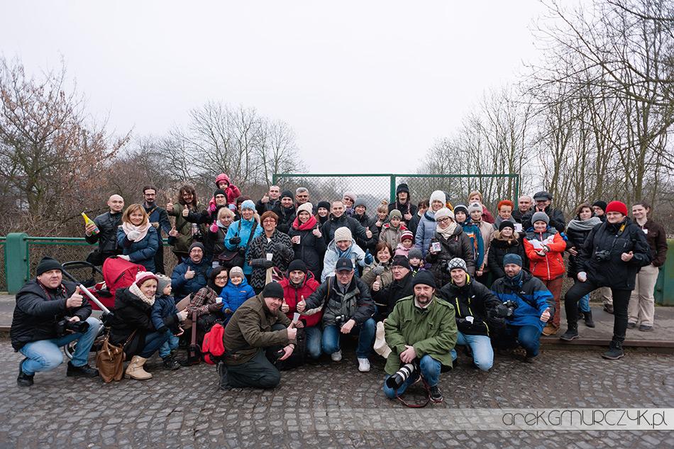 Ponad 60 uczestników III Pleneru Noworocznego Stowarzyszenia Płocka Grupa Fotograficzna 01.01.14r godz. 12:00  fot. Arek Gmurczyk