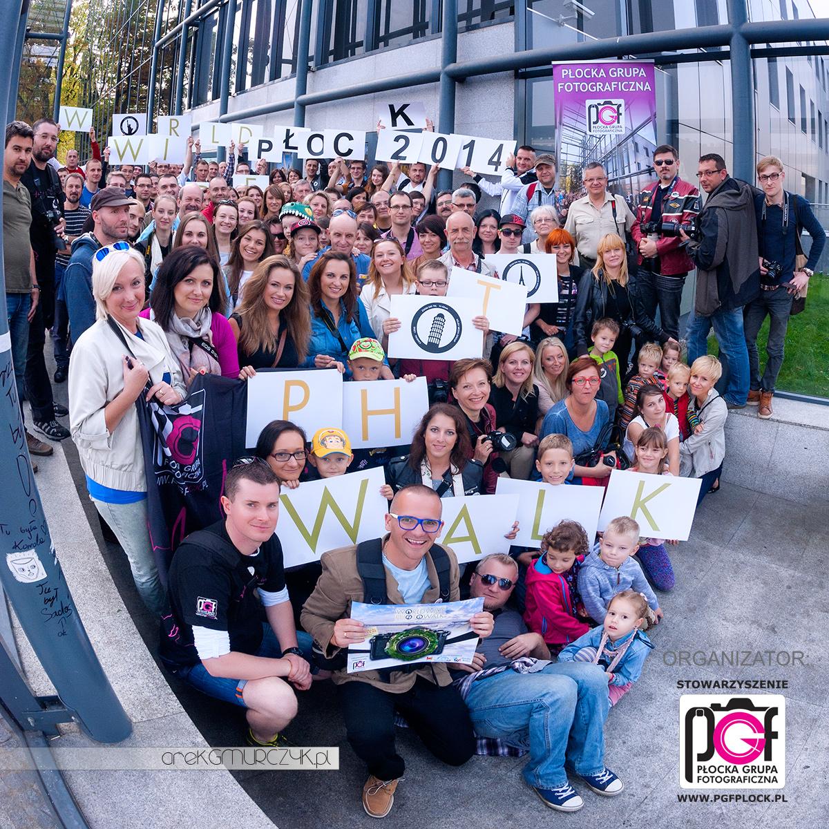 Ponad 100 osób na płockiej edycji największego na świecie spaceru fotograficznego Worldwide Photo Walk Płock 2014!